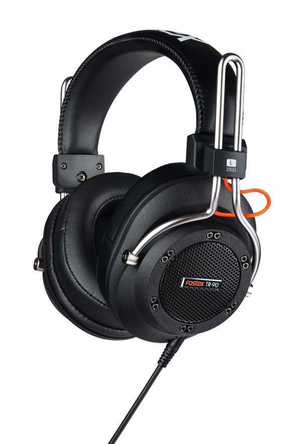 FOSTEX TR-90  80 OHM SEMI-OPEN BACK HEADPHONES PRODUCTION STUDIO Auth Dealer