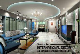 LED ceiling lights, LED strip lighting in the interior
