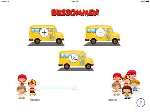 Ipad app: bussommen