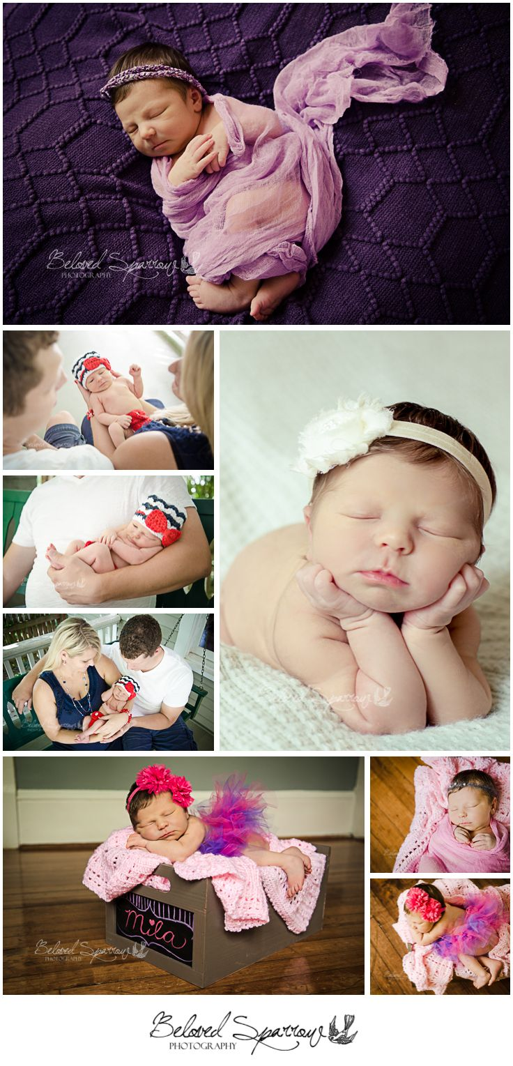 Baby Girl Newborn Session | Atlanta Photographer | Atlanta Newborn Photographer | Baby girl newborn pictures | Best Atlanta Photographers