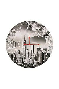 NEW YORK CITY PHOTOGRAPHIC WALL CLOCK