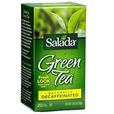 Salada Decaf Green Tea (6x20bag)