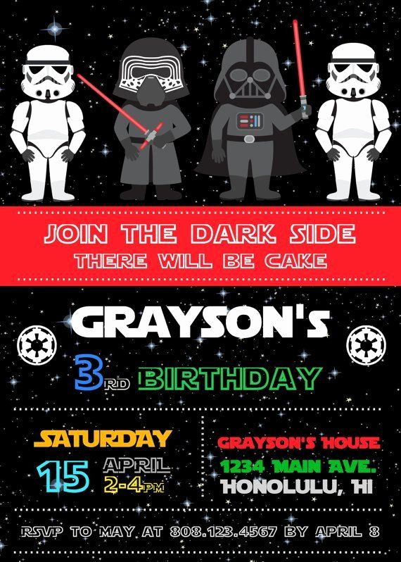 Star Wars Online Invitations Inspirational Free Star Wars Birthday Invitations Star Wars Birthday Invitation Star Wars Invitations Star Wars Invitations Free