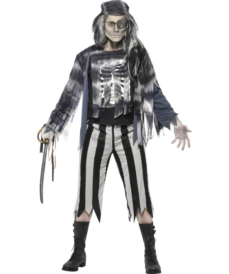 halloween ghost pirate costume