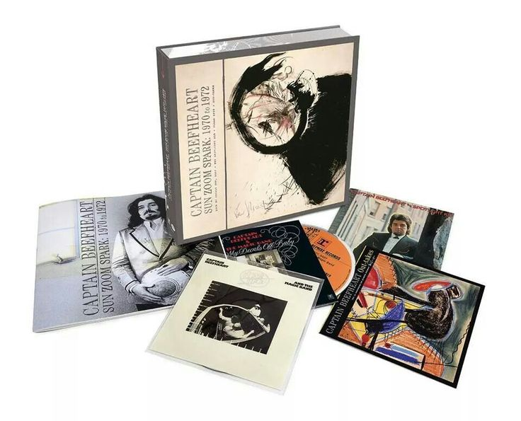 CAPTAIN BEEFHEART - Sun Zoom Spark 1970-1972 (4cd Box set)