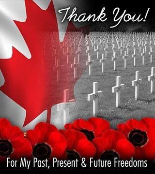 Remembrance Day 11-11 in Canada