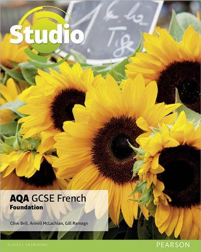 Bell, C. et al. (2016) Studio AQA GCSE French. Foundation, Student book. Harlow: Pearson Education