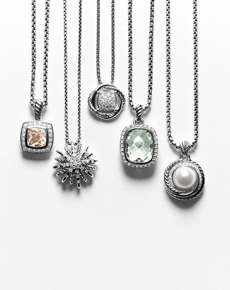David Yurman Necklaces & Chains - Diamond & Gold Necklaces for Women