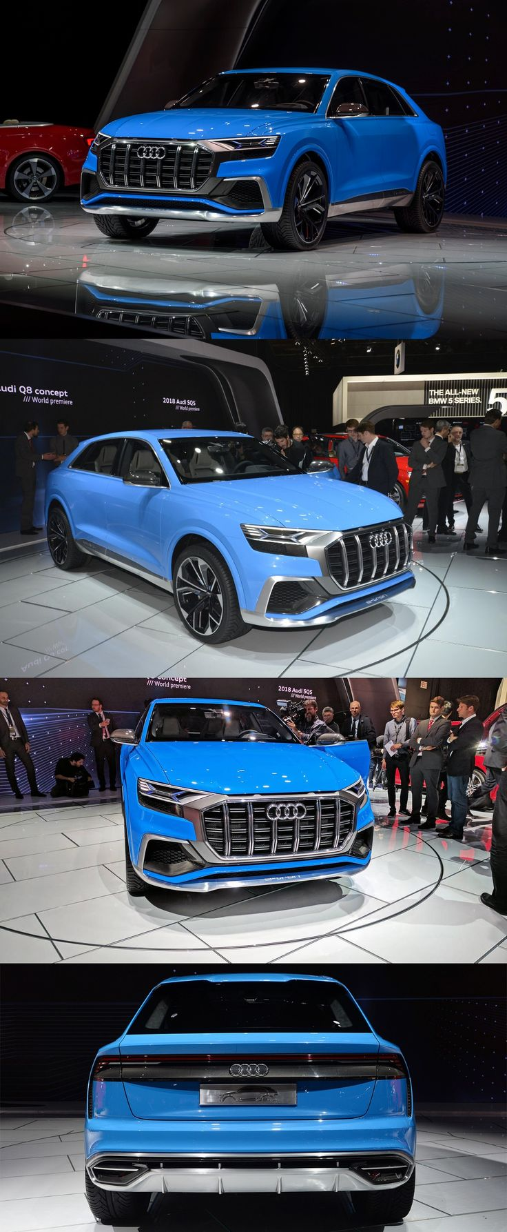 NAIAS 2017: Audi Expands Utility Vehicle Lineup with New Q5, Q8 Concept