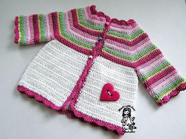 Cute Crochet Little Girl S Sweater Crocheted Kids