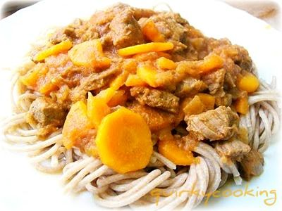 Quirky Cooking: Sweet n Sour Beef with Noodles