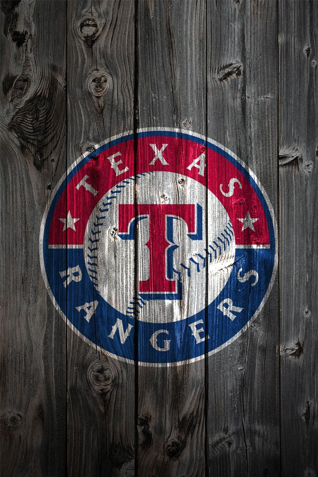 Texas Rangers Wood Iphone 4 Background Wallpaper