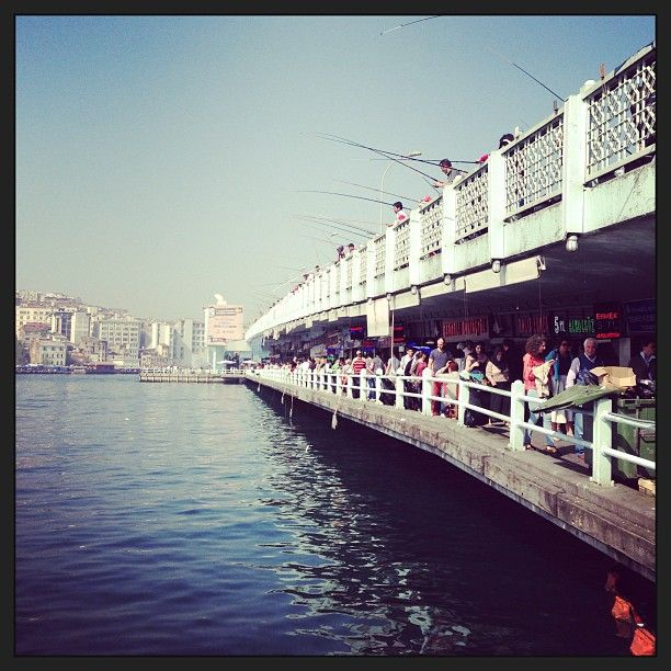 Galata Köprüsü in İstanbul, İstanbul