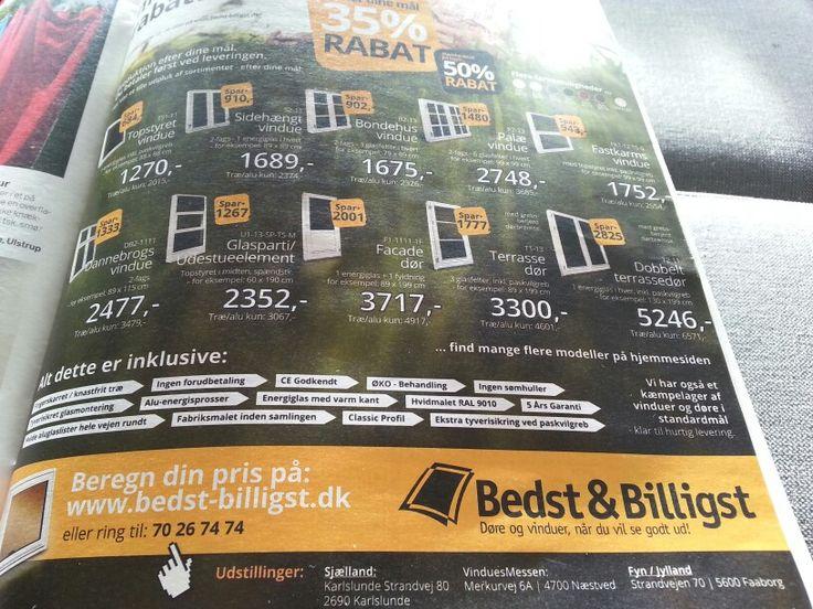 Køb billige vinduer og døre