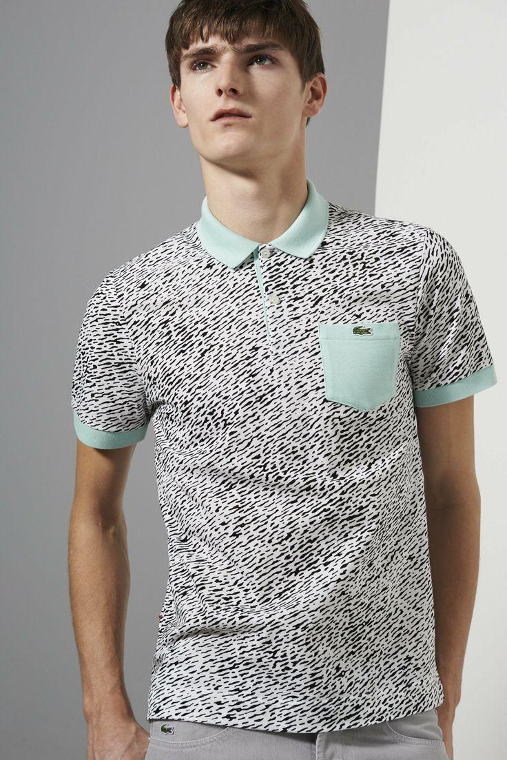 Lacoste Live Short Sleeve Mini Pique All Over Camouflage Printed Polo Shirt    L!VE. PolosEstilos InformalesRopa MasculinaPlayerasCamisasModa ... 4c570e2bdb