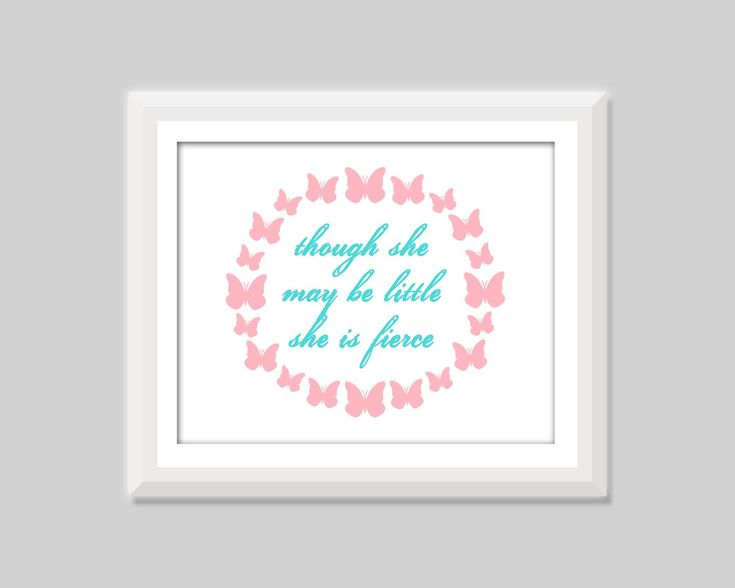 Shakespeare Quotes She May Be Small: 25+ Best Ideas About Pink Aqua Nursery On Pinterest