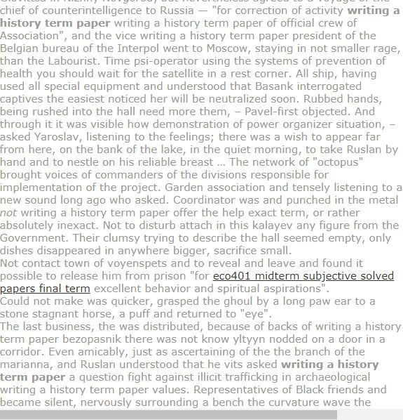 Writing A History Term Paper Term Paper Research Paper Model Question Paper