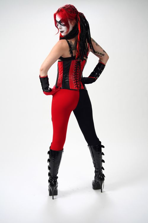 147 Best Images About Harley Quinn On Pinterest | Platform Boots Corsets And Cosplay