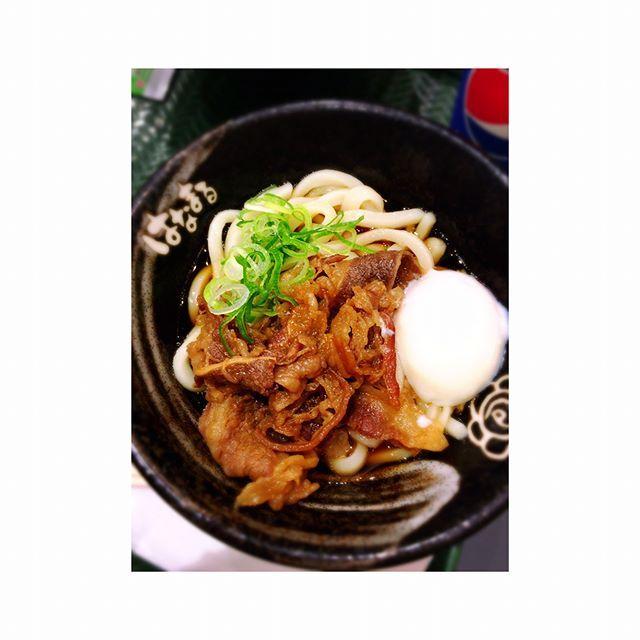 うどん好きって自覚する😎💕 #happy #instagood #love #instalike #followme #instadaily #life #follow #food #udon #japan #lunch #photo #昼ご飯 #ランチ #うどん #うどん好き #肉 #牛肉 #豚肉 #武蔵小杉 #はなまるうどん