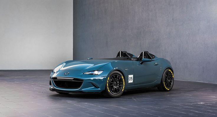 Concept cars sportifs Mazda MX-5 Spyder et Mazda MX-5 Speedster
