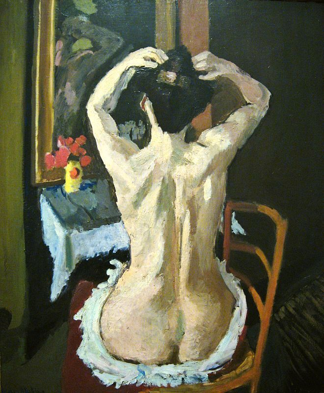 i would love to own a Henri Matisse ! not a print but real one ! a girl can dream:)  Henri Matisse : La coiffure 1901.