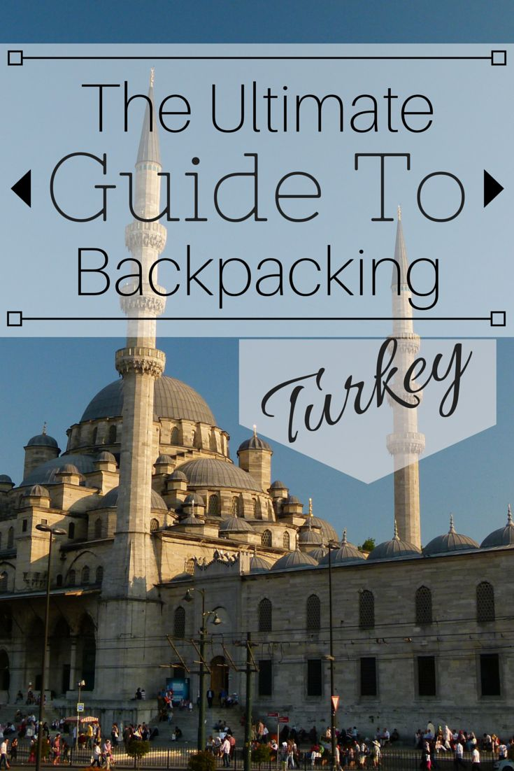 This is the Ultimate Guide to Backpacking Turkey. Everything you need to know about budget, accommodation, food, culture, must-sees, health, visas, transportation and much more! This is the only guide you'll need to Turkey. http://www.goatsontheroad.com/budget-backpacking-guide-to-turkey/