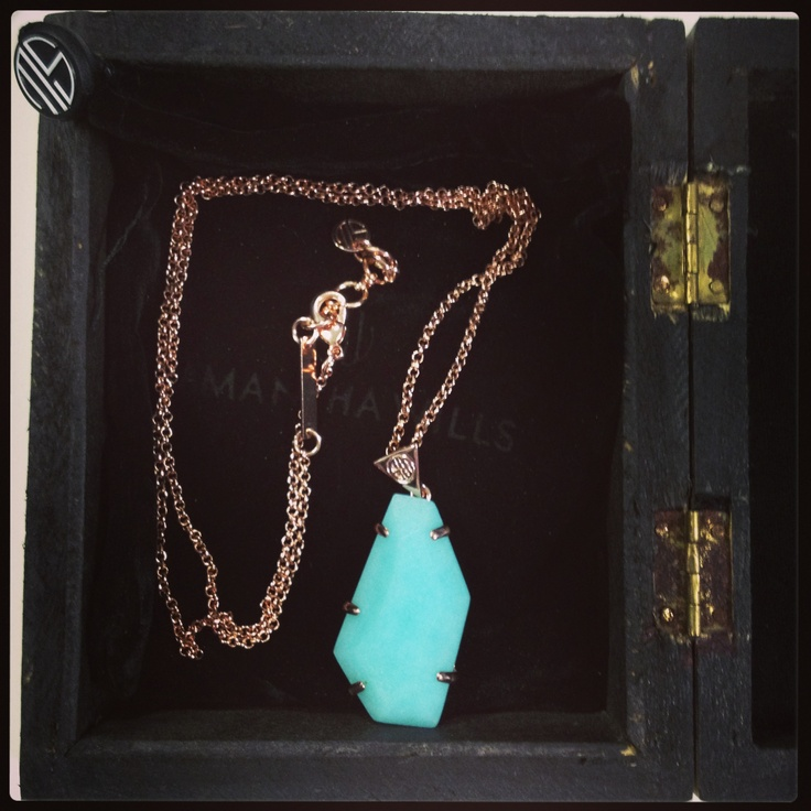 Romancing the Stone necklace turquoise ~ Samantha Wills