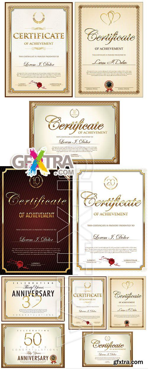 14 best diploma images on Pinterest Web free, Frames and Free - new certificate vector free