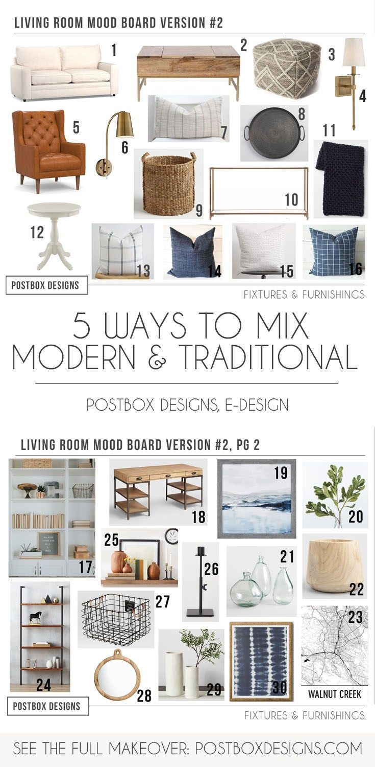... with Neutrals Without Being Boring! Postbox Designs E-Design: Neutral  Living Room Decor, Modern Living Room Design Ideas via Online Interior  Design