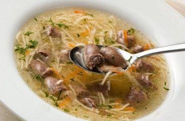Суп с куриной печенью - приготовление с фото. Рецепт супа из куриной печени