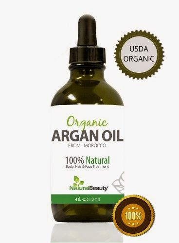 Moroccan Argan Oil - For Hair, Face, Skin, & Nails, Best 100% Pure and Organic Oil for Anti Wrinkle, Anti Aging, Anti Oxidant, Moisturizer a...
