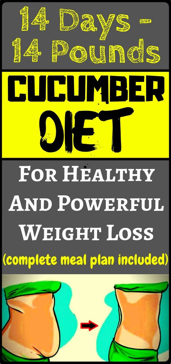 Cucumber Diet For Weight Loss: Lose 15 Pounds In 14 Days! — Health and Fitness… – Elizabeth Adams
