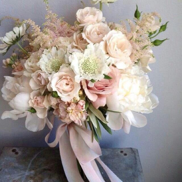 Vintage mute tones bouquet
