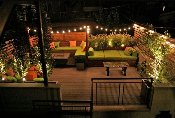 Apartment Patio Lights : Spectacular Outdoor String Lights To Illuminate  Your Patio String Lights, Outdoor