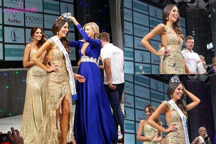 Monika Radulovic crowned Miss Universe Australia 2015