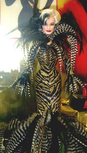 Glenn Close as Cruela DeVille Barbie