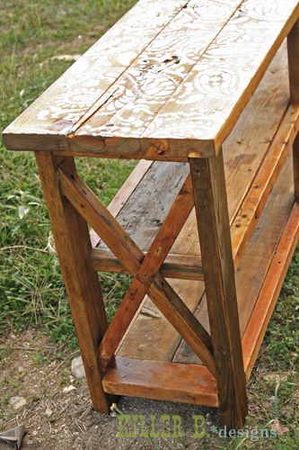 Handmade Furniture :: Shanty2Chic's clipboard on Hometalk :: Hometalk