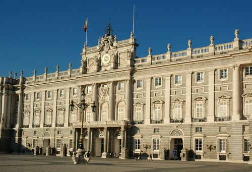 Royal Palace - Madrid, Spain. Shame I only got to see the outside of the place.