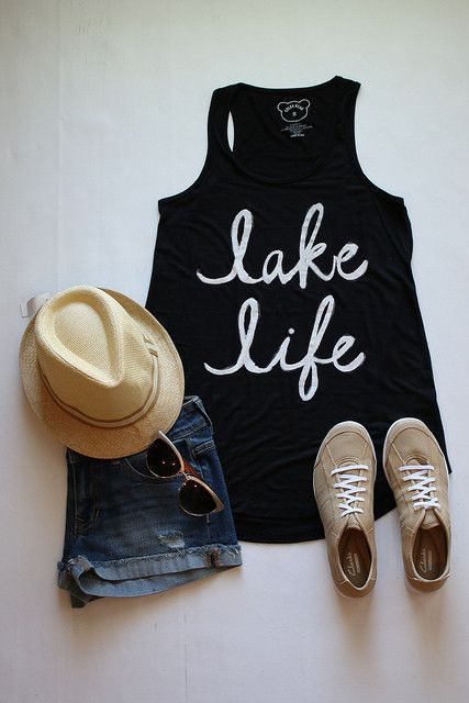 Lake Life in Black