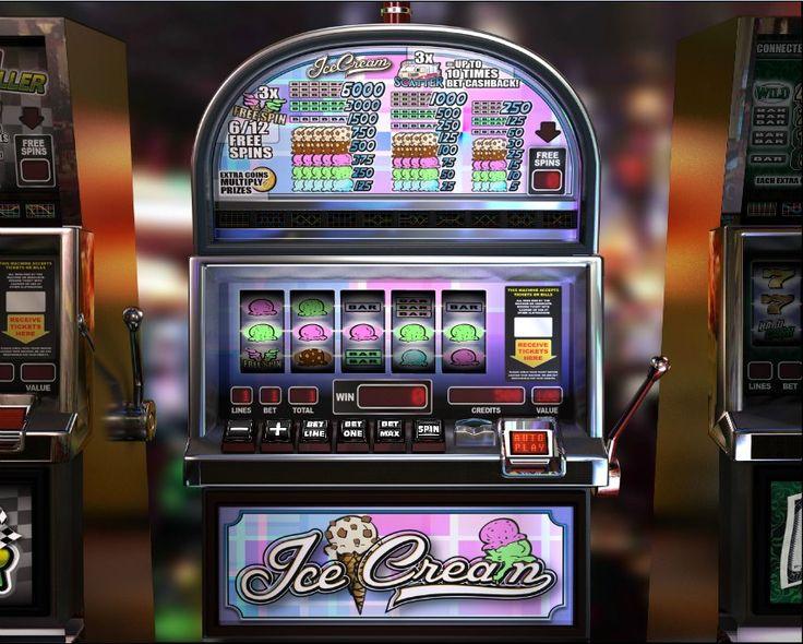 Ice cream! Classic 5 reel slot! For more games, register on http://casino-goldenglory.com
