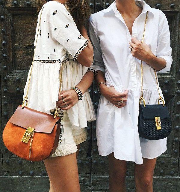 Le sac Drew de chez Chloé n'en finit pas de séduire les modeuses ! (instagram Song of Style)