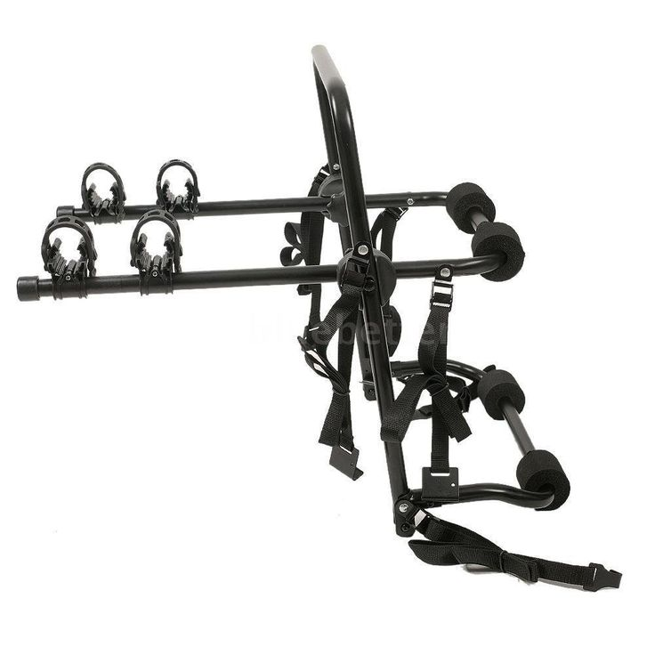 """PS-Bicycle Bike Rack Carrier 1-1.4""""& 2"""" Bicycle Hitch Mount Carrier Car Truck V3M7. Made by al-alloy and plastic. Portable and lightweight. Simple, sturdy bike carrying system. Used for SUV, MPV, or small car. For traveling and commuting."""