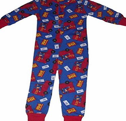 Postman Pat Boys Onesie Pyjamas Postman Pat (2-3 years) Boys Onesie Postman Pat Official product 100% cotton Buttons to the middle Postman Pat is blue and red with all over print design Sizes available 12-18 and 18-24 months 2 (Barcode EAN = 5055592075283) http://www.comparestoreprices.co.uk/latest2/postman-pat-boys-onesie-pyjamas-postman-pat-2-3-years-.asp