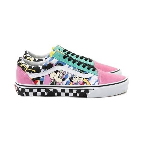 3de6faf87b2008 Disney x Vans Old Skool Chex Skate Shoe - multi - 497318
