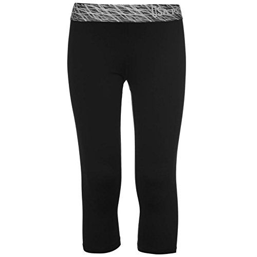 UK Golf Gear - USA Pro Kids Capri Tights Junior Girls Three Quarter Elastic Training Sports