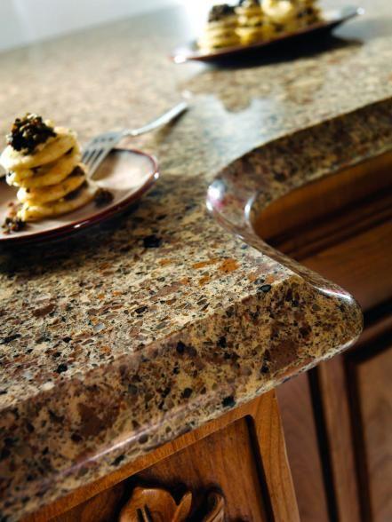 Mid-Range: Engineered Stone Countertops