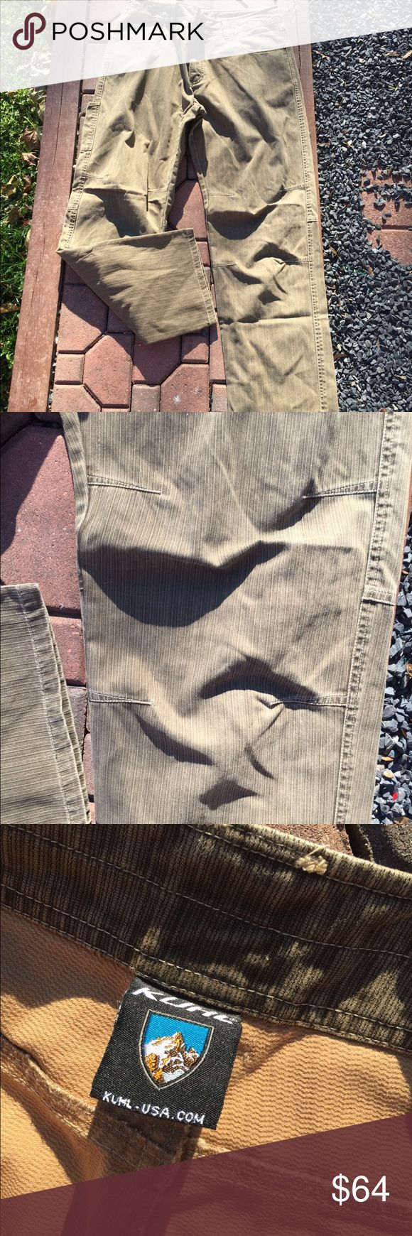 Kühl Mens Textured Patina Pants Size 36x32 Super gently preowned. Size 36x32. Be sure to view the other items in our closet. We offer  women's, Mens and kids items in a variety of sizes. Bundle and save!! We love reasonable offers!! Thank you for viewing our item!! Kuhl Pants