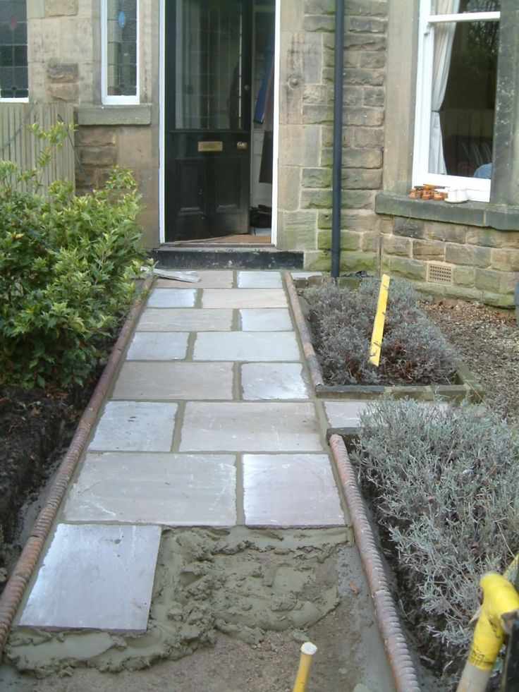 Front Path and Victorian Edging Tiles | Olive Garden Design and Landscaping