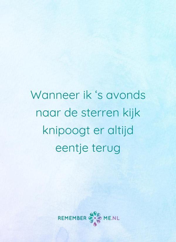 Denk jij daar boven ook even aan mij?   Een quote over het afscheid, het verdriet en het gemis na de dood van een geliefde. Vind meer inspiratie over de uitvaart en rouwen op http://www.rememberme.nl
