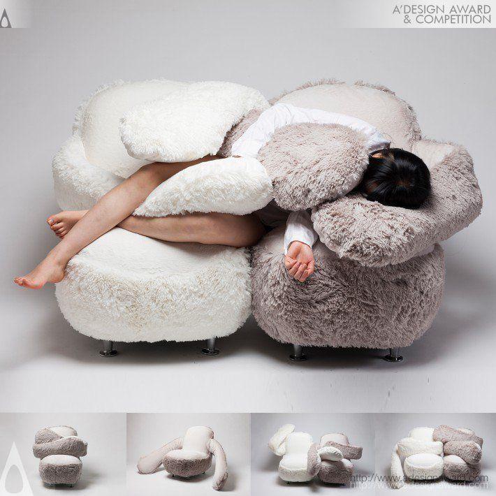 Free hug Sofa : le siège du réconfort